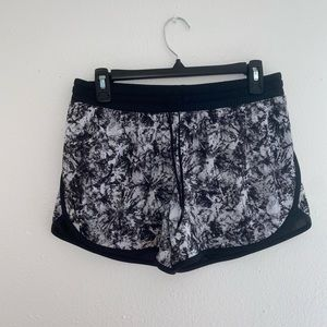 BCG Abstract Print Athletic Workout Shorts Size SM